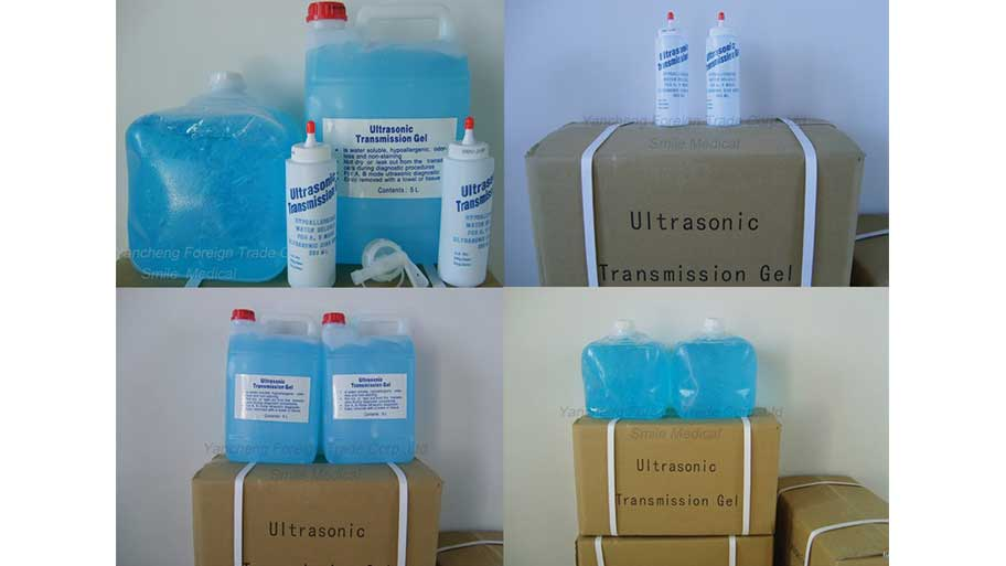 gel for ultrasound and ECG