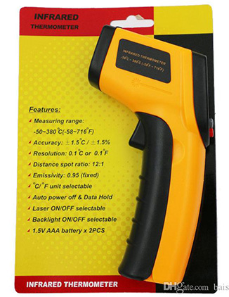 Infrared Thermometer Digital Display